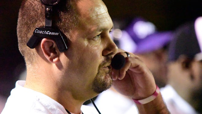 Fremont Ross coach Chad Long was first-team all-Ohio three times for Clyde.