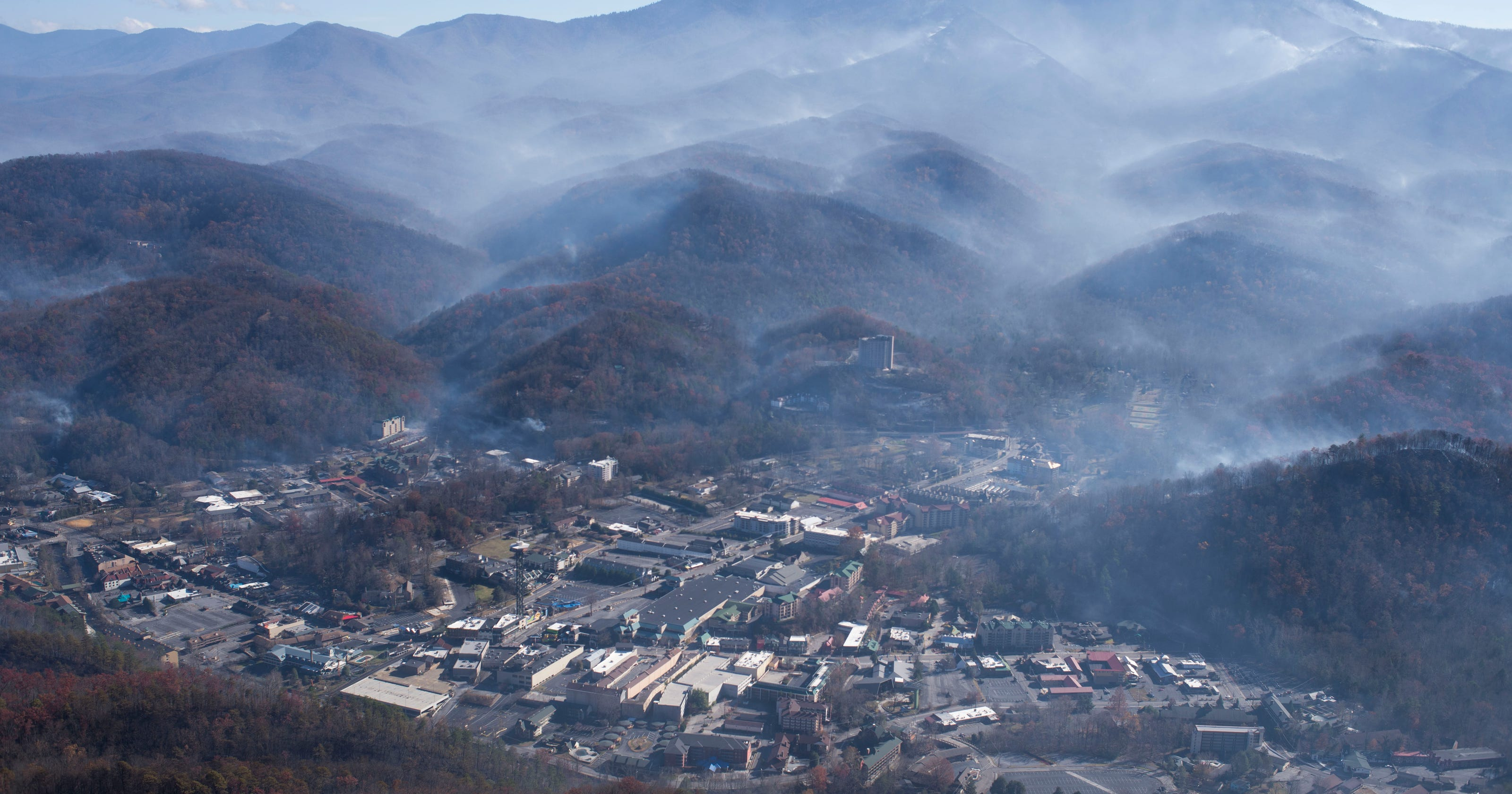 Map 911 Calls Of Nov 28 Gatlinburg Fire That Resulted In 14 Deaths