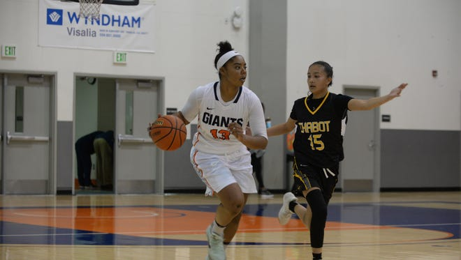 COS sophomore guard Zharia McCollum and the Giants host the 41st Annual Gilcrest Tournament during Nov. 30 to Dec. 3.