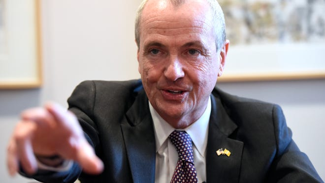 Governor-elect Phil Murphy speaks to Northjersey.com's Charles Stile and Dustin Racioppi in Newark, NJ on Monday, December 11, 2017.
