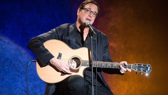 Bob Saget will bring his stand-up routine to the Grand Falls Casino Resort this fall.
