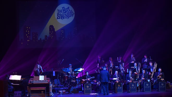 Flying Horse Big Band from University of Central Florida is here Thursday.