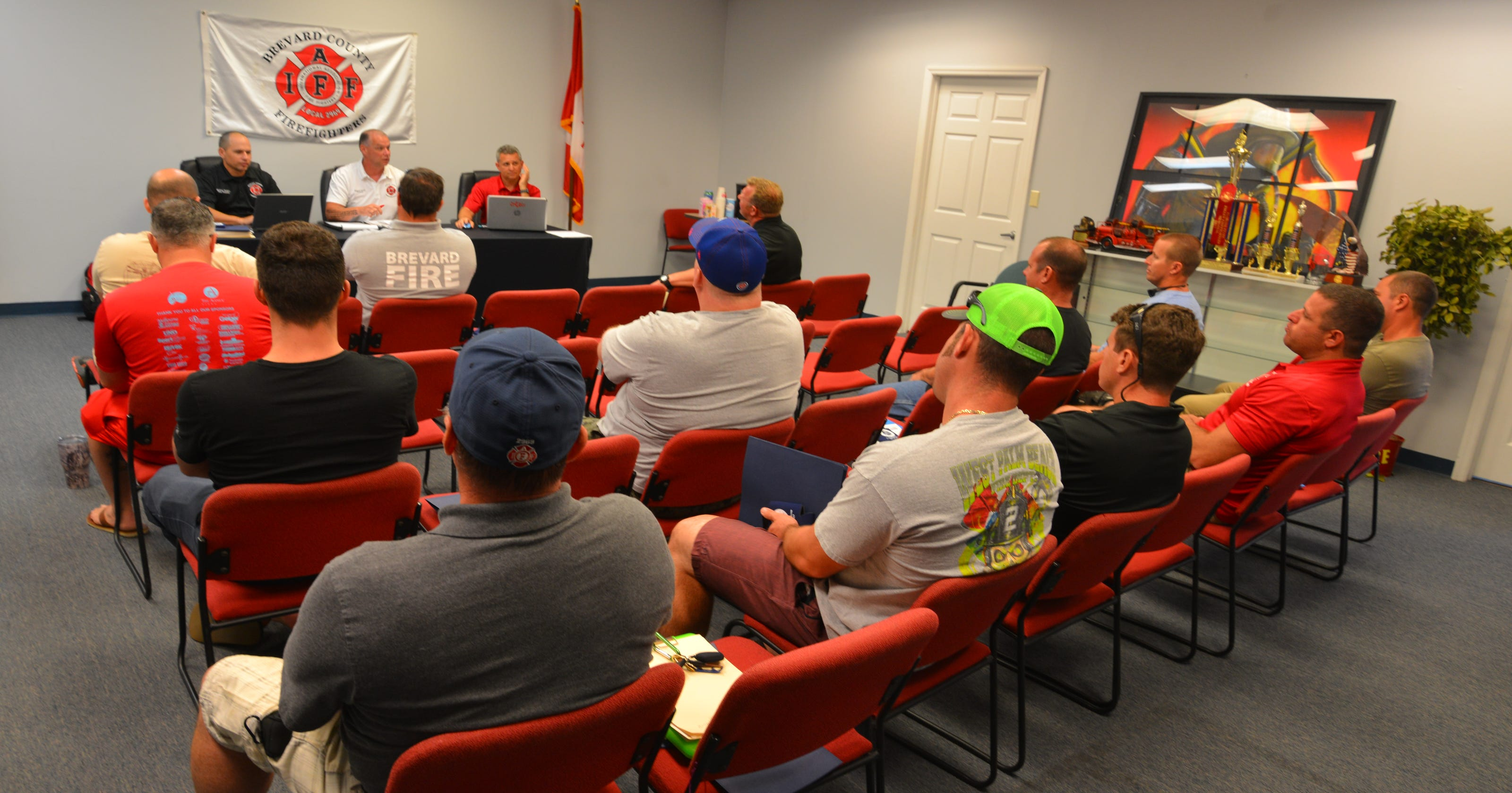Brevard firefighters have new contract
