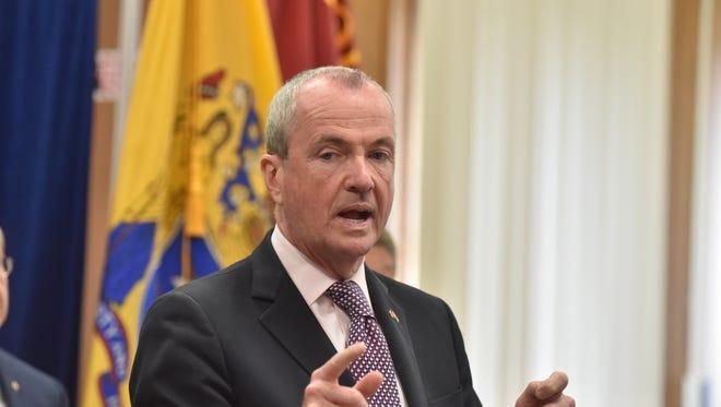 NJ Governor Phil Murphy