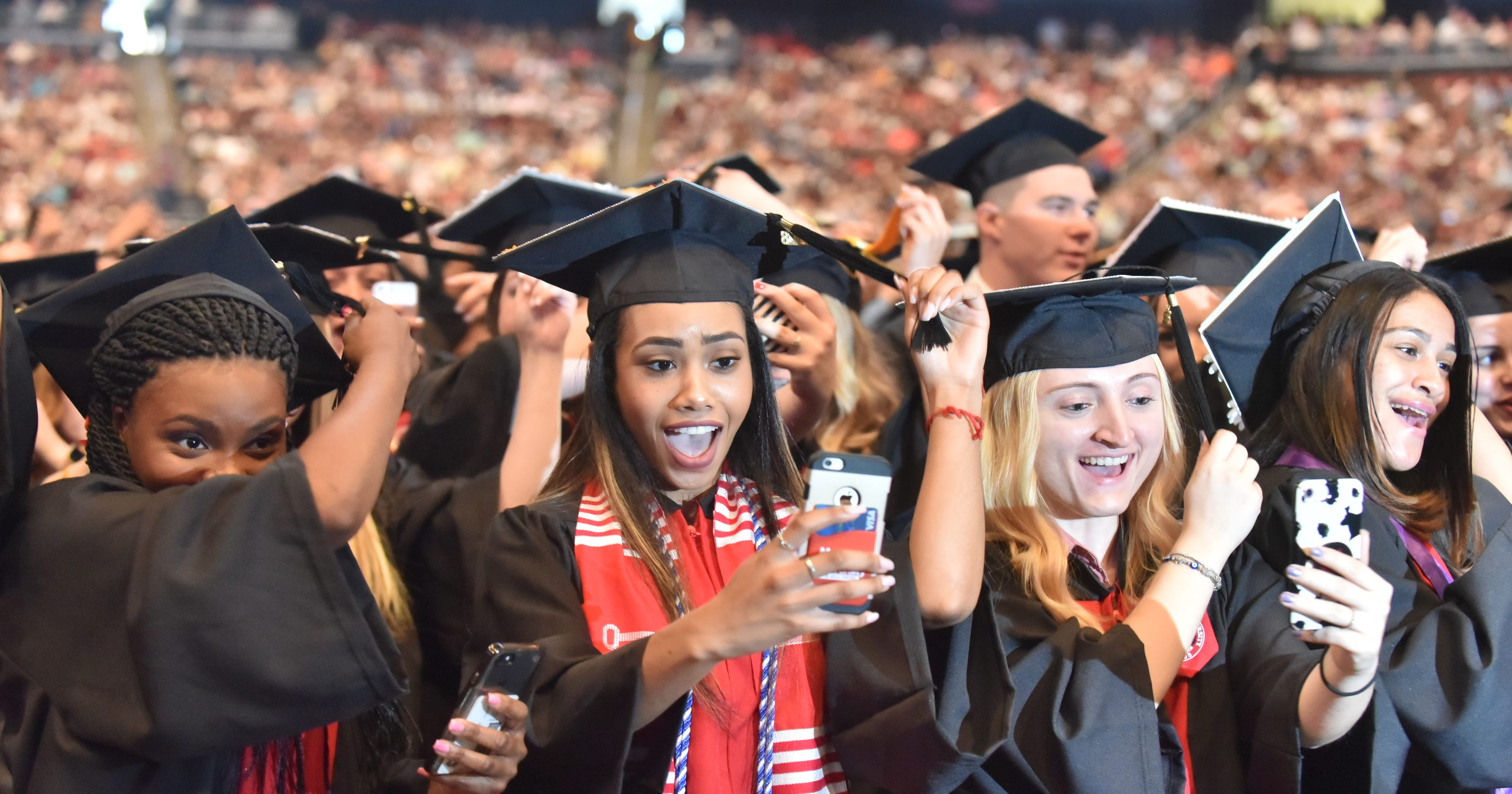 Montclair State University graduation packs Prudential Center