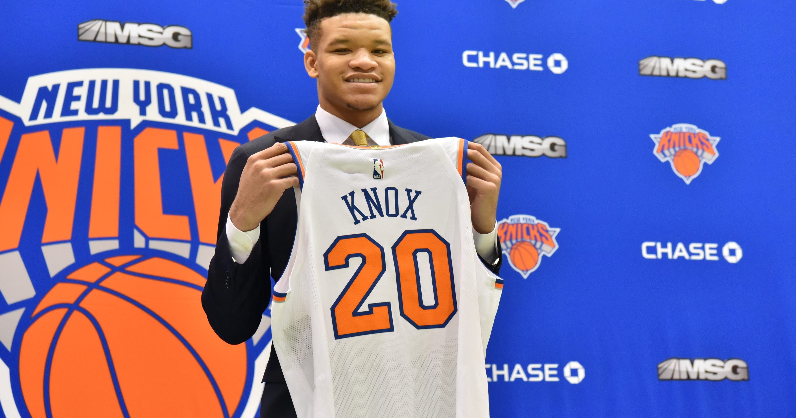 New York Knicks  Why people who know Kevin Knox best believe he is prepared  for NBA f002daa44