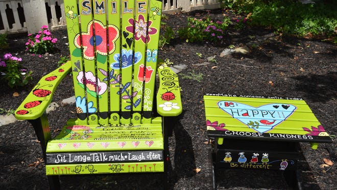 'The Happy Chair -- Just Smile' by Wendy Richardson.