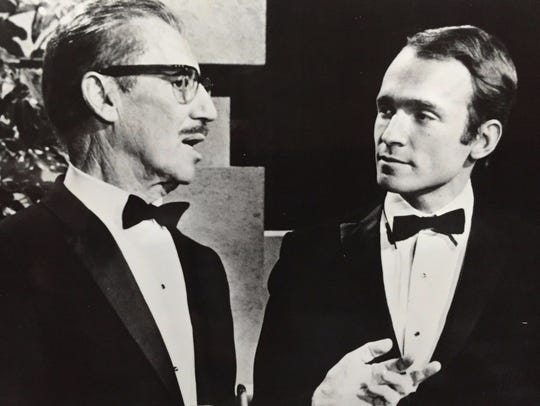 Groucho Marx and Dick Cavett