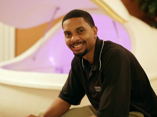 David McCullar, owner of NeuroFitness Center in Southfield,