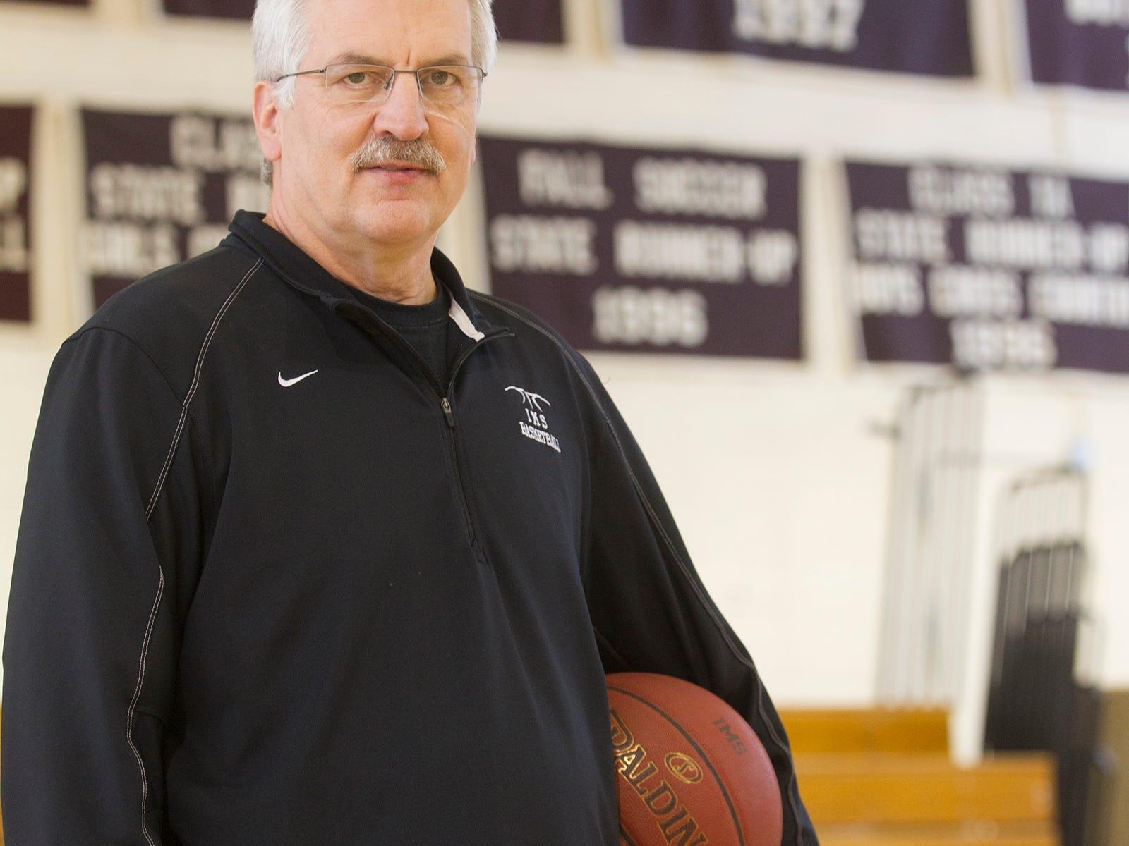 Iowa Mennonite School head coach Dwight Gingerich has won 608 games entering Thursday's Class 1A District opener.