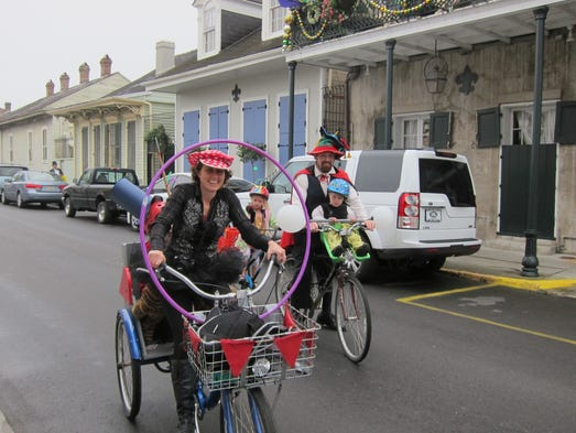 "To local New Orleanians, Mardi Gras means family. ""Mardi Gras is one big family picnic,""  said Kevin Kelly, a lifelong resident and owner of Houmas House Plantation and Gardens.  ""People think it's a big sex show on Bourbon Street. For locals, it's always about friends and family."" Kelly hosts legendary Mardi Gras viewing parties from his St. Charles Avenue balcony."