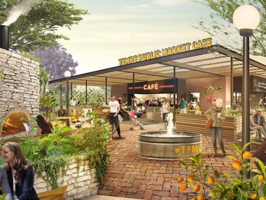 Tempe Public Market Cafe is set to open in summer 2017.
