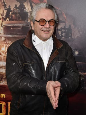 George Miller attends the premiere of 'Mad Max: Fury Road' at TCL Chinese Theatre in L.A. on May 7.