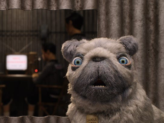 """Oracle is one of the characters in """"Isle of Dogs."""""""