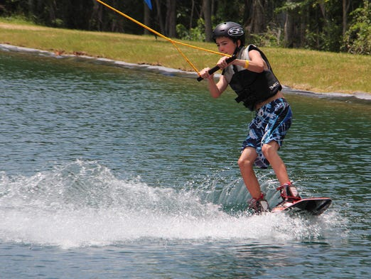 Missouri's first cable-powered wakeboard park is now open at the Ski Shack's man-made lake,  5539 S Campbell Ave.