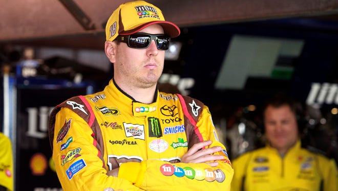 Team owner Joe Gibbs said he doesn't know how long Kyle Busch will be out of the car.