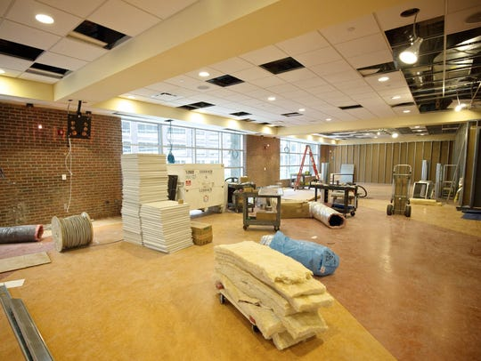 The new Benzinga office that is currently under construction,