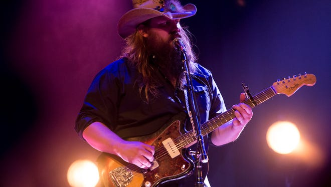 Chris Stapleton won the Academy of Country Music Awards' New Male Vocalist of the Year.