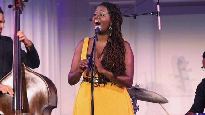 Somi performs in New York City in 2015. She will be among the artists at this year's Clifford Brown Jazz Festival in Wilmington.