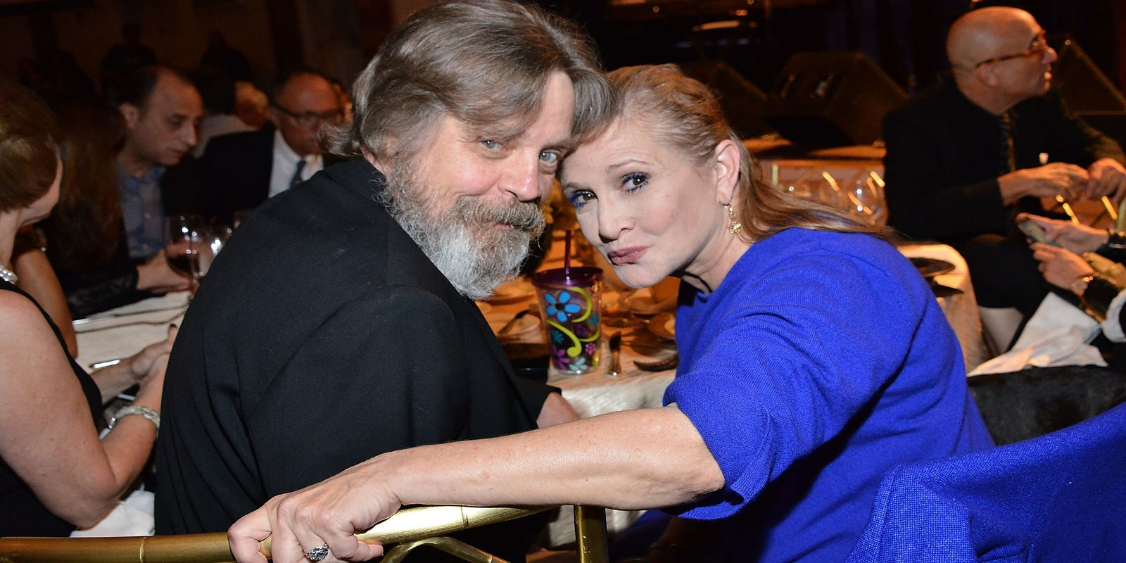 Alice May Porn Piçks mark hamill: carrie fisher would've been 'prominent' in