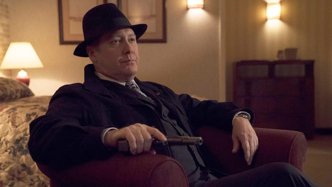 "James Spader stars in ""The Blacklist,"" renewed by NBC for a sixth season."