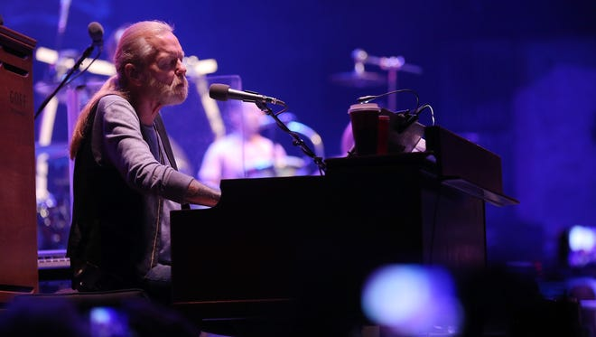 Gregg Allman of The Allman Brothers Band performs at The Beacon Theatre on Oct.  28 in New York City.