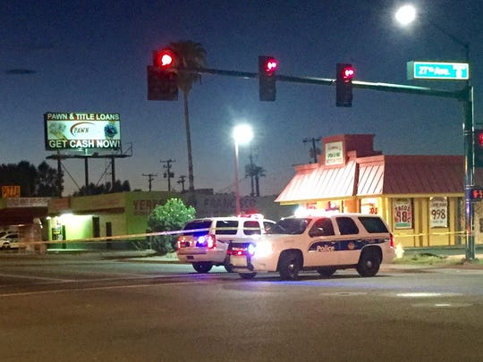 Phoenix police were investigating a fatal hit-and-run