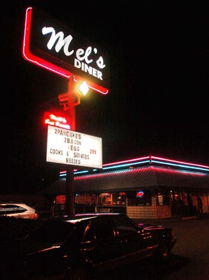 Mel's Diner is pictured in this Advertiser file photo.