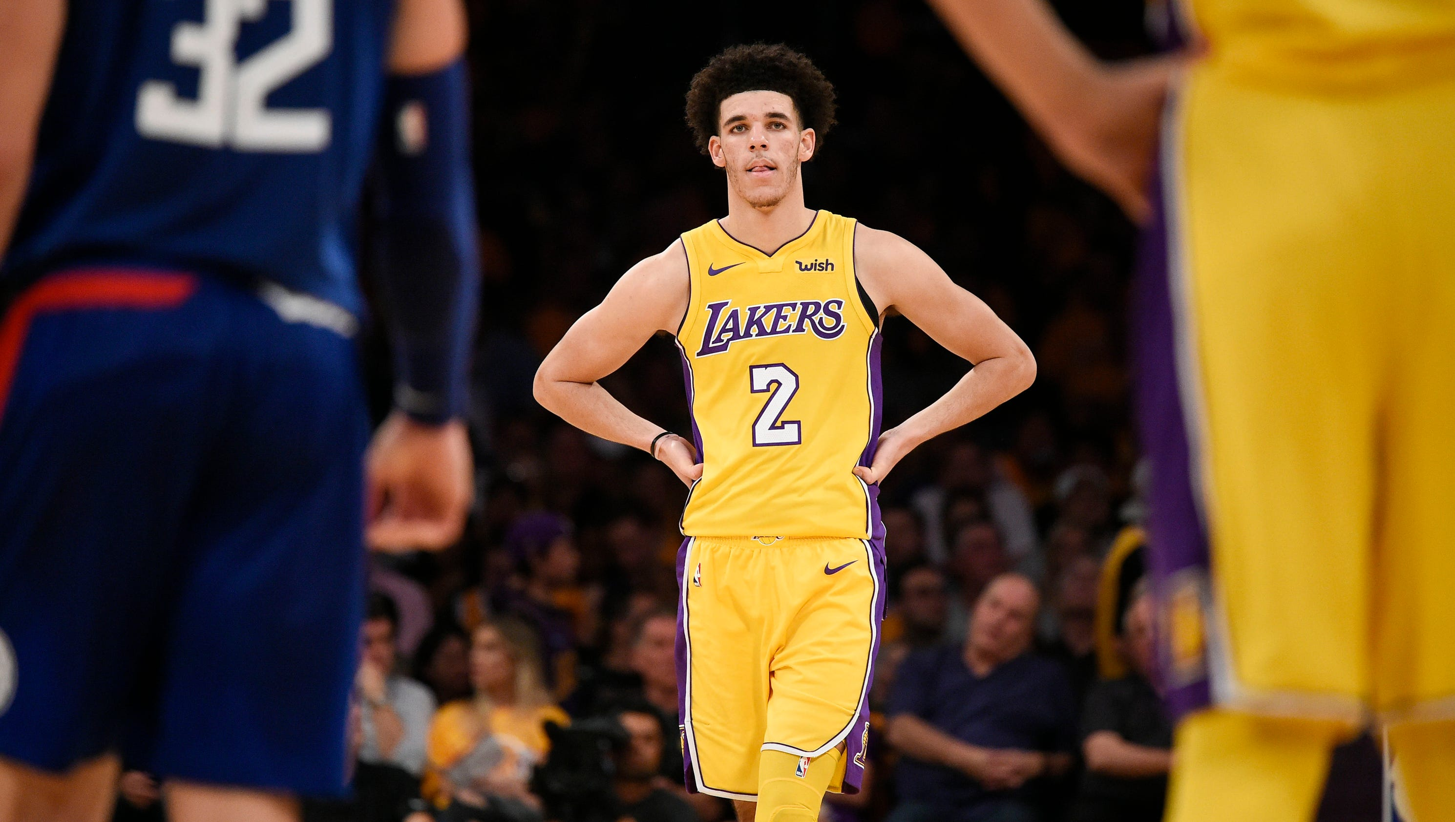 Lonzo Ball Cars Top Car Release 2019 2020 Jeep Wrangler Factory Subwoofer Wiring Patrick Beverley Struggles In Nba Debut For