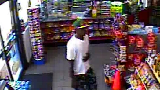 Suspect in armed robbery at Exxon on Laurens Road.