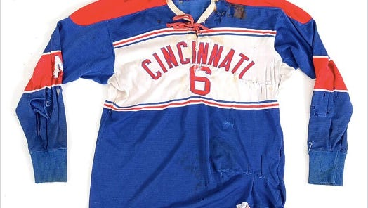 One of the items up for sale through ebth.com as part of the Cincinnati Gardens collection.