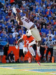 Nov 25, 2017; Gainesville, FL, USA; Florida State Seminoles
