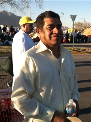 Alejandro Hernandez went to Juarez to see Pope Francis.