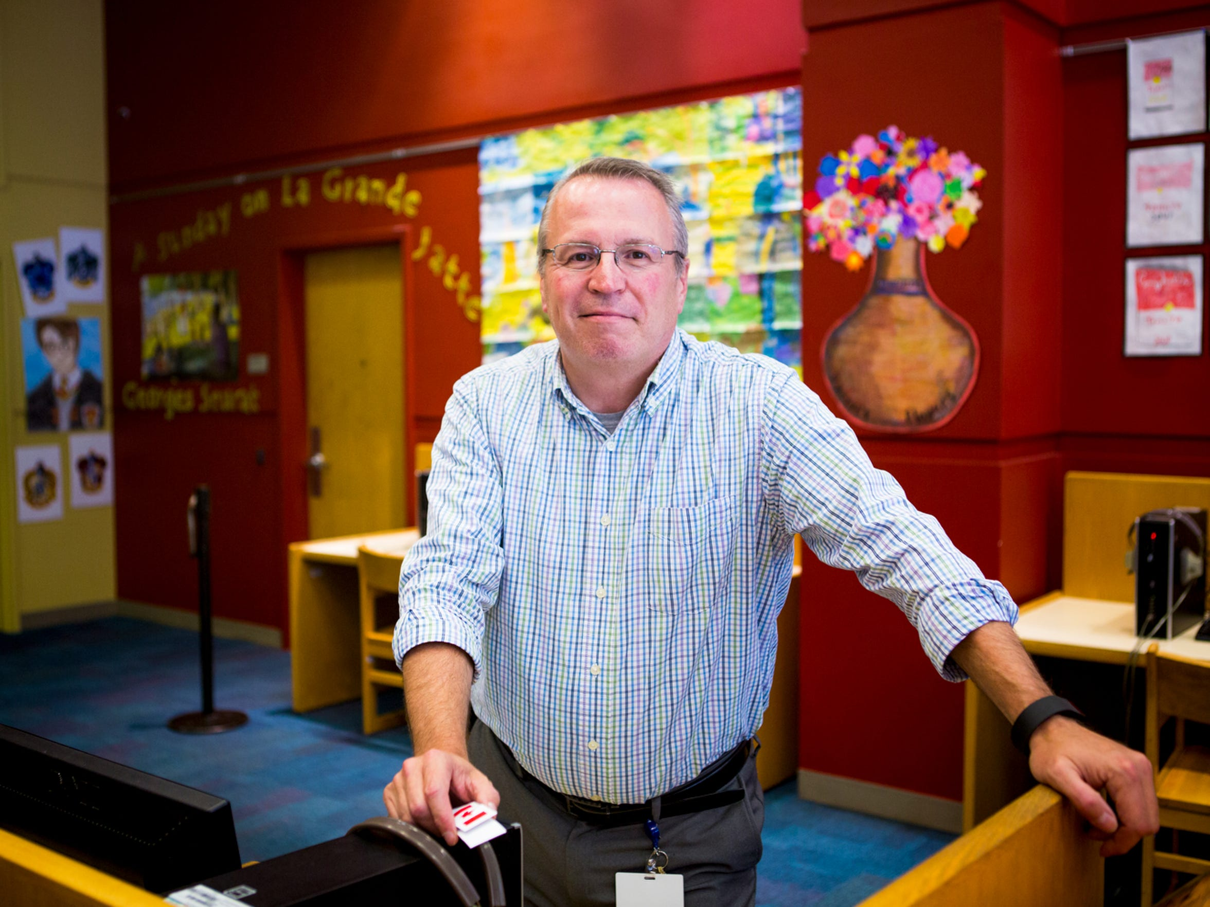 Keith Armour is the education and homework support manager at the The Public Library of Cincinnati and Hamilton County.