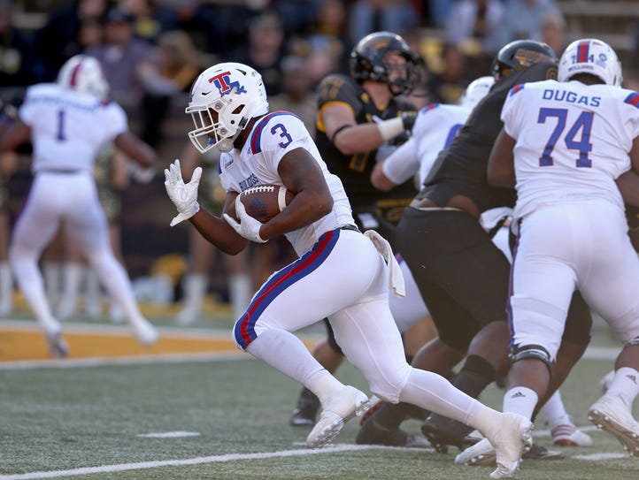 Louisiana Tech Bulldogs running back Jarred Craft (3)