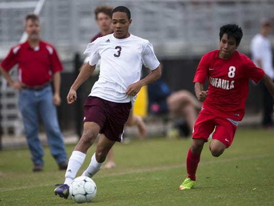 Boy's Soccer: LAMP vs. Eufaula 01