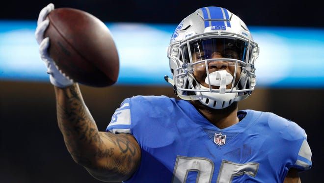 """The perfect move for me,"" Eric Ebron said of his signing with the Indianapolis Colts this spring."