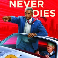 Obama and Biden ride again (as detectives!) in the fun mystery, 'Hope Never Dies'