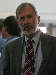 Stan Hales, executive director of Barnegat Bay Partnership, in 2012