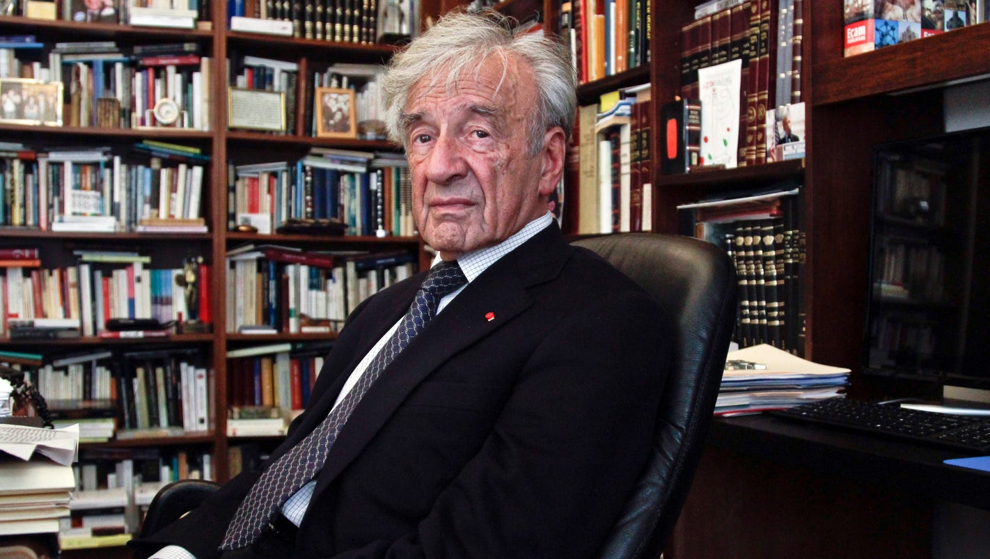 """a short biography of elie wiesel Elie wiesel, who has died aged 87, was the most eloquent witness to the great catastrophe to which he was one of the first to give the name """"holocaust"""" wiesel grew up experiencing first-hand ."""