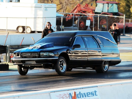 World's fastest? Hearse from hell has 1,300 horses