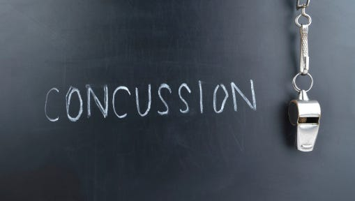 Sometimes concussions, brain injuries typically caused by a blow to the head, are an unfortunate reality for players.