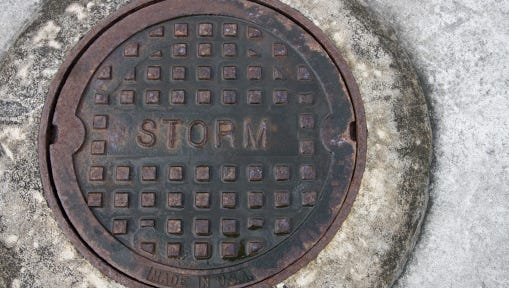 A stock image of a storm system cover