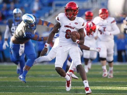 Lamar Jackson's running ability made him the most dynamic