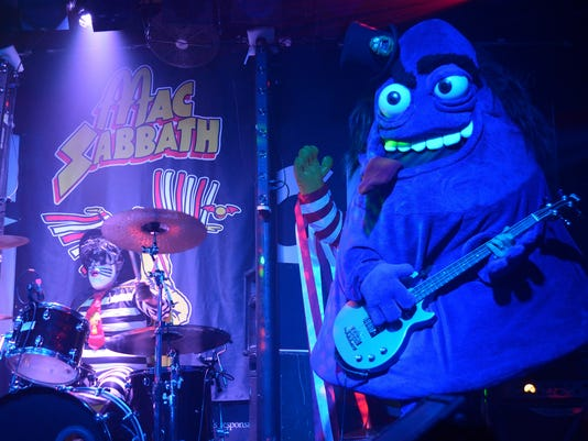 Mac Sabbath is shown in a performance from June 10.