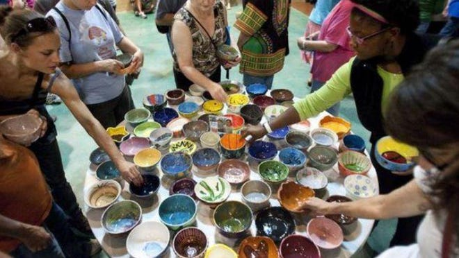 This year's Austin Empty Bowl Project is taking place online with several virtual events and a silent auction to benefit Meals on Wheels and the Central Texas Food Bank.