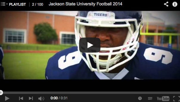 Jackson State releases 2014 football promo video