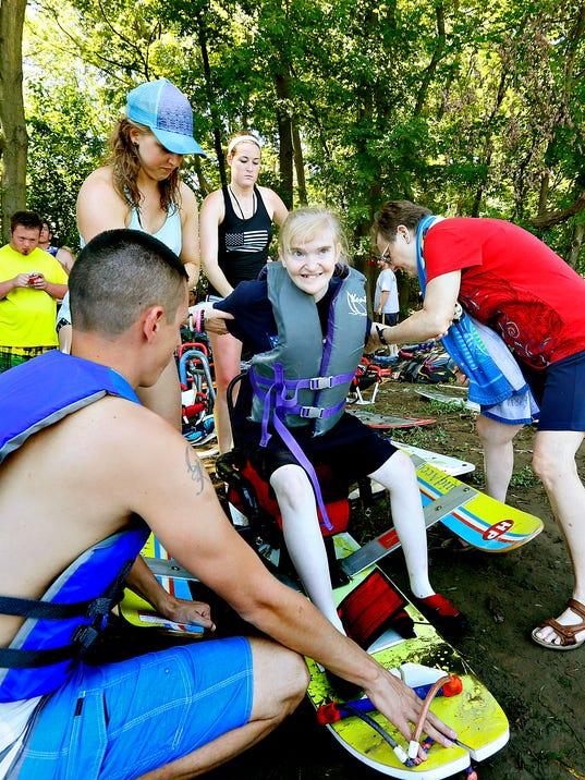 Easter Seals Adaptive Water Ski Clinic