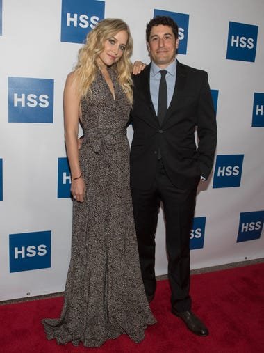 Jenny Mollen (Actress and Author) and Jason Biggs (Actor).