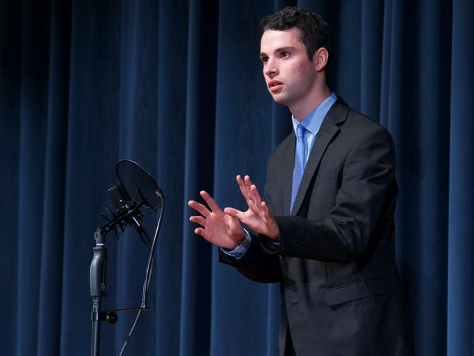 The Riverside High School Speech and Debate Team held